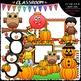 Autumn Clip Art & B&W Club Bundle (4 Sets)