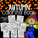 Autumn Coloring Book {Made by Creative Clips Clipart}