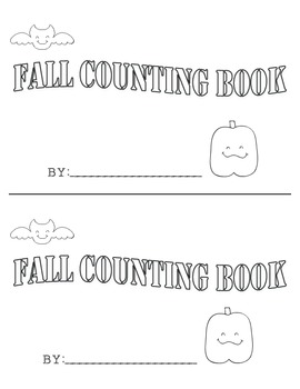 Autumn Counting Book