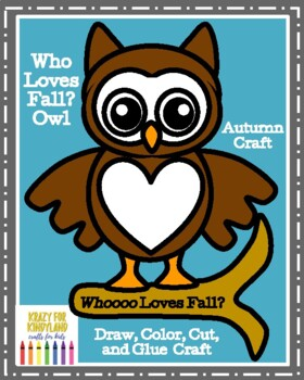 Autumn Craft: Who Loves Fall? Owl