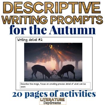 Creative Descriptive Writing Pack: Fall