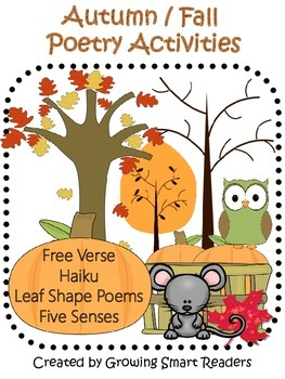 Autumn-Fall Poetry: Reading and Writing Activities
