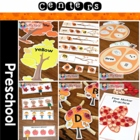 Autumn / Fall Preschool Centers