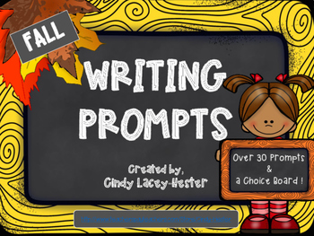 Autumn / Fall Writing Prompts