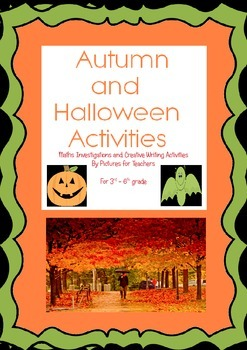 Creative writing, Maths and Games for Autumn and Halloween