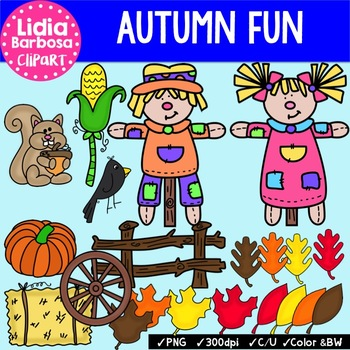 Autumn Fun { Clip Art for Teachers }