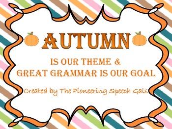 Autumn Grammar Bundle