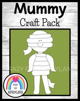 Autumn/Halloween Craft: Mummy