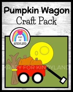 Autumn / Halloween Craft: Pumpkin Wagon