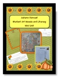 Autumn Harvest Mosaic Poster and Literacy Activities