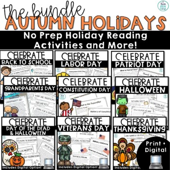 Autumn Holidays Non Fiction Bundle