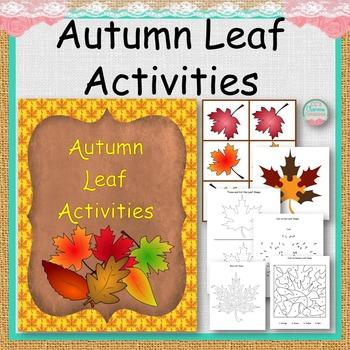 Autumn Leaf Activities