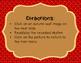 Autumn Leaves - Interactive Reading Practice Game {ti tom}