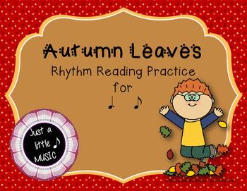 Autumn Leaves - Interactive Reading Practice Game {tom ti}