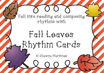 Autumn Leaves Rhythm Cards