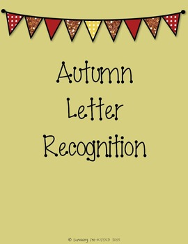 Autumn Letter Recognition Game