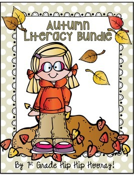 Autumn Literacy Bundle...Crafts and Activities for Primary!