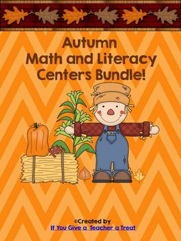 Autumn Literacy and Math Centers