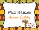 Autumn Lullaby - A Fall Folk Song w/ Orff Instrument Accom