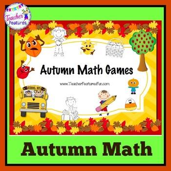 Autumn Math Games (Grades 1 & 2)