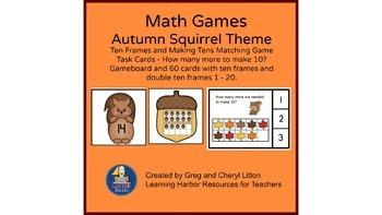 Autumn Math Ten Frames and Making Ten