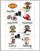 Nouns and Verbs Sort - Autumn Theme Fall Theme - Autumn Ac