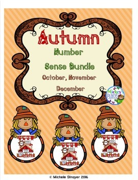 Number Sense Autumn Bundle: October, November, December