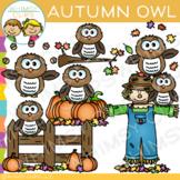 Autumn Owl Clip Art