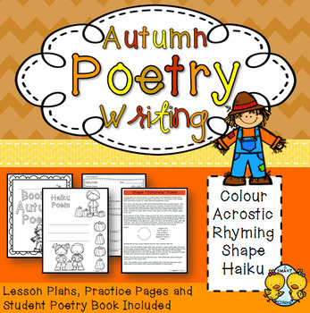 Autumn Poetry Writing Unit