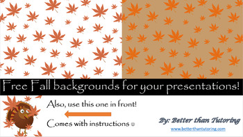 Autumn PowerPoint Backgrounds