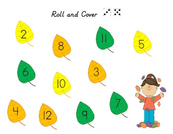 Autumn Roll and Cover, Roll and Color