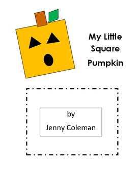 Autumn Square Pumpkin