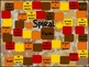 Autumn-Theme Adding and Subtracting Multiples of 10 Game B