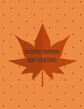 Autumn Themed Skip Counting