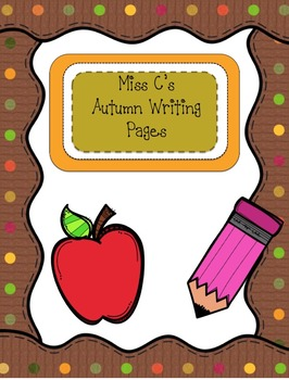 Autumn Writing Pages