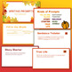 Autumn/Fall Writing Prompts (PowerPoint & Rubric)
