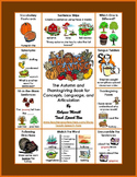 Autumn and Thanksgiving Activities for Concepts, Language,