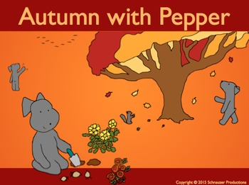 Autumn with Pepper in English