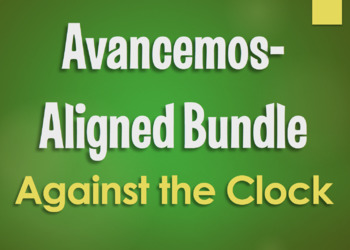 Avancemos 1 Bundle: Against the Clock Games