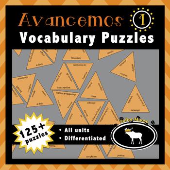 Avancemos 1 Entire Textbook 68 Puzzle Pack