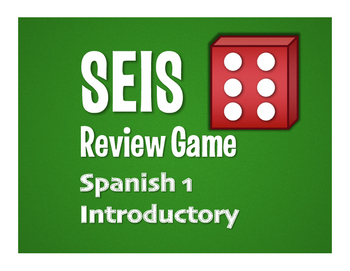 Avancemos 1 Lección Preliminar Seis Game