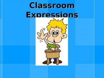 Avancemos 1 Preliminar Classroom Expression Vocabulary Pre
