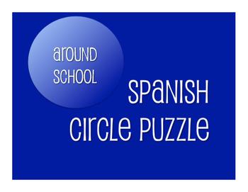 Avancemos 1 Unit 2 Lesson 1 Circle Puzzle
