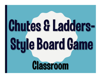 Avancemos 1 Unit 2 Lesson 2 Chutes and Ladders-Style Game