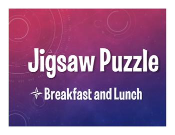 Avancemos 1 Unit 3 Lesson 1 Jigsaw Puzzle