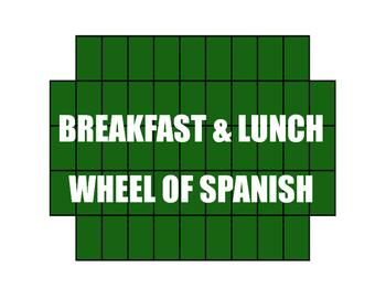 Avancemos 1 Unit 3 Lesson 1 Wheel of Spanish