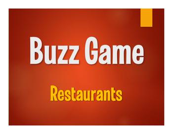 Avancemos 2 Unit 5 Lesson 2 Buzz Game
