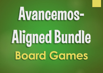 Avancemos 3 Bundle: Small Group Board Games