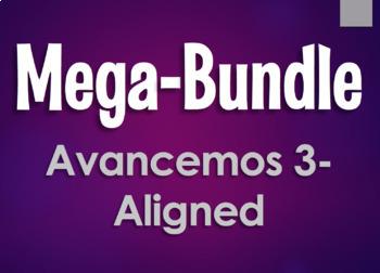 Avancemos 3 Semester 2 Mega-Bundle