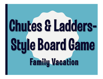 Avancemos 3 Unit 1 Lesson 2 Chutes and Ladders-Style Game